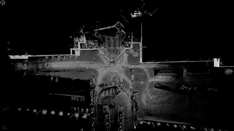 Laserskannaus antaa kuvan kohteesta kokonaisuutena. Voit pyörittää kuvaa ja ottaa mittoja tarvitsemastasi kohdasta koska tahansa.